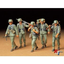 35184,1/35 Maschinengeweer-Crew duits
