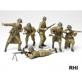 1/35 Franse iInfantry Set WWII