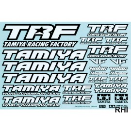 42164, TRF Sticker-Set black/white
