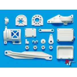 47336 TT-02 D Parts (Motor Mount)(White)