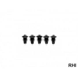 50585, 4x10mm Step Screw (5) TA-02/TA-