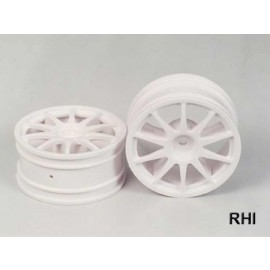 50732, RC 10 Spoke One-Piece Wheels -