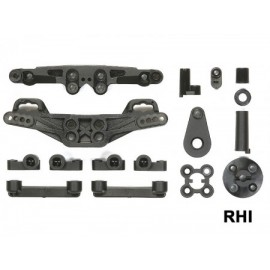 XV-01 Chassis J-Parts demperbruggen