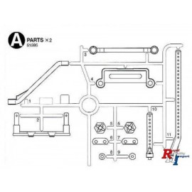 51595  M-07 A Parts (Body Mounts)