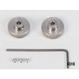 53421, RC 0.4 Pinion Gear (42T, 43T)
