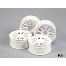 53468,1/10 Mesh Spoke Wheel white