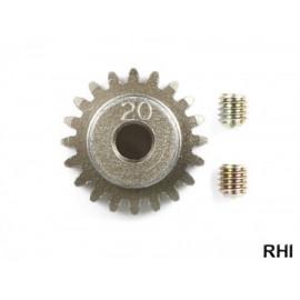 53509, M-05 Alu Pinion Gear 20 Teeth