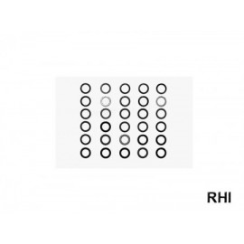 53586, RC 4mm Shim Set - 3 Types