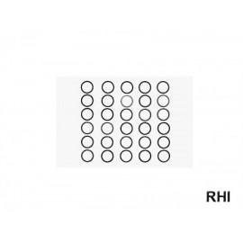 53588, RC 10mm Shim Set - 3 Types