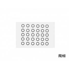 53726, RC Dia 6mm Shim Set