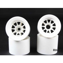 54526 F104 Wheel Set (White)