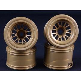 54527 F104 Mesh Wheel Set (Gold)