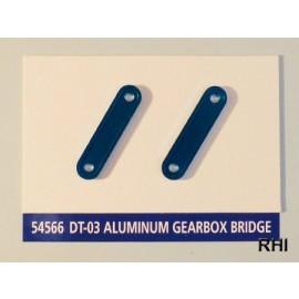 54566 DT-03 Aluminium-Getriebehalterung