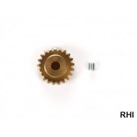 54577, TRF M0.6 Alu Pinion Gear 21T