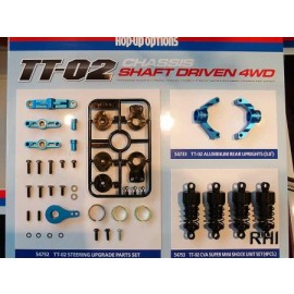 54752, RC TT02 Steering Upgrade Parts