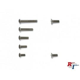 54758 M-07C Titanium Screw Set