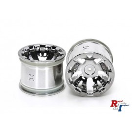54833 T3-01 Rear Chrome Plated Wheels