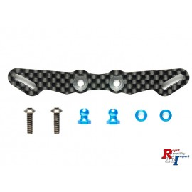54846 TB-05 Carbon Front Damper Stay