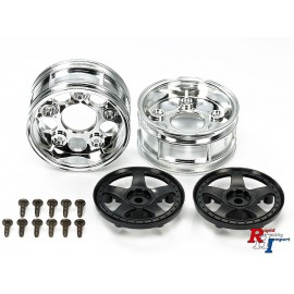 54854 Two-Piece 5-Spoke Wheels