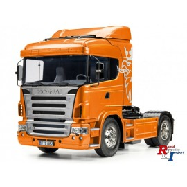 56338 1/14 RC Scania R470 4x2 Orange met