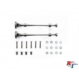 56540, RC Metal Horn Set - For Tractor