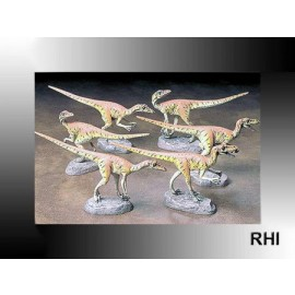60105, 1/35 Velociraptor' Pack of Six