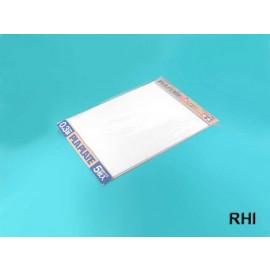 70122, Kunststof plaat 0,3mm (5) wit