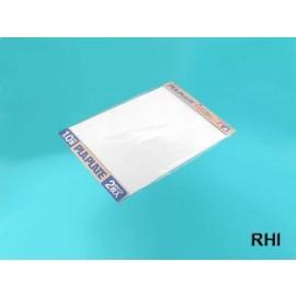 70124, Kunststofplaat 1,0mm (2) wit