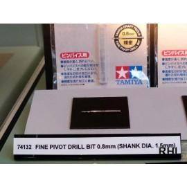 74132, Fine Pivot Drill Bit 0.8mm