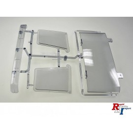 9115185 S-Parts Window smoke-clear