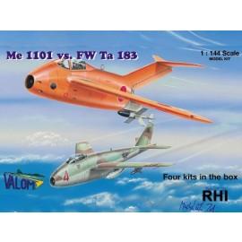 14401 1/144 Me 1101 vs FW Ta 183