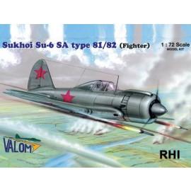 72027 1/72 Sukoi Su-6 SA type 81/82