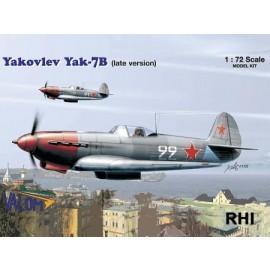 72040 1/72 Yakovlev Yak-7B (late
