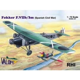 72054 1/72 Fokker F.VIIb/3m (Spanish