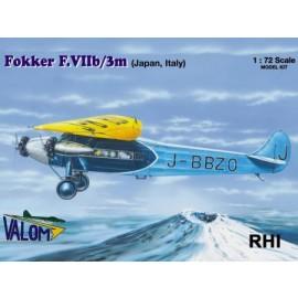 72071 1/72 Fokker F.VIIb/3m